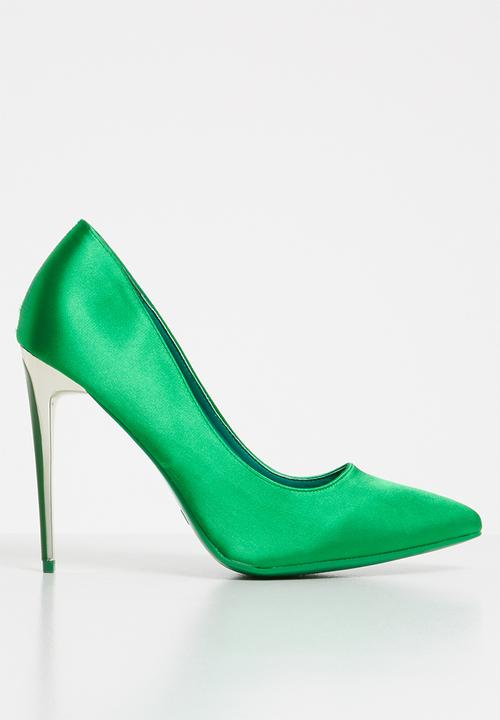 756c80e81 Satin stiletto heels - green Sissy Boy Heels | Superbalist.com