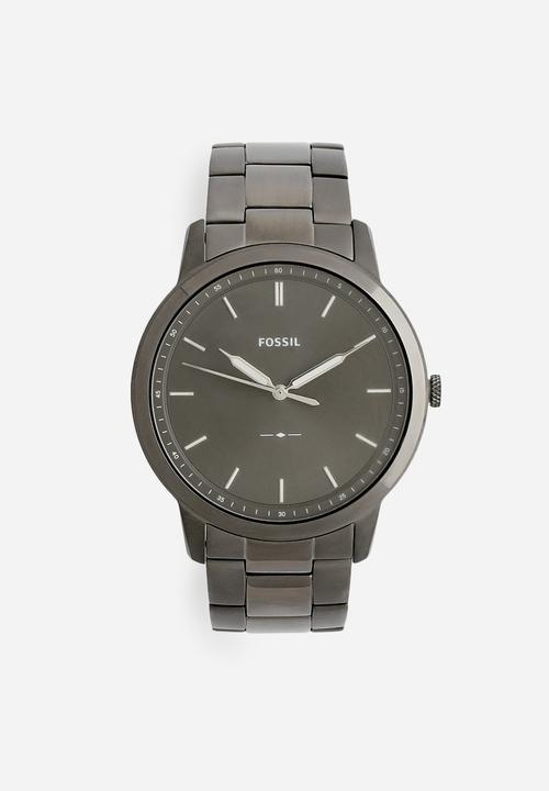 26869fa0b353 The minimalist 3H-FS5459 - smoke Fossil Watches