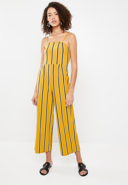 338c0341d37 Striped jumpsuit - Yellow stripe Superbalist Jumpsuits   Playsuits ...