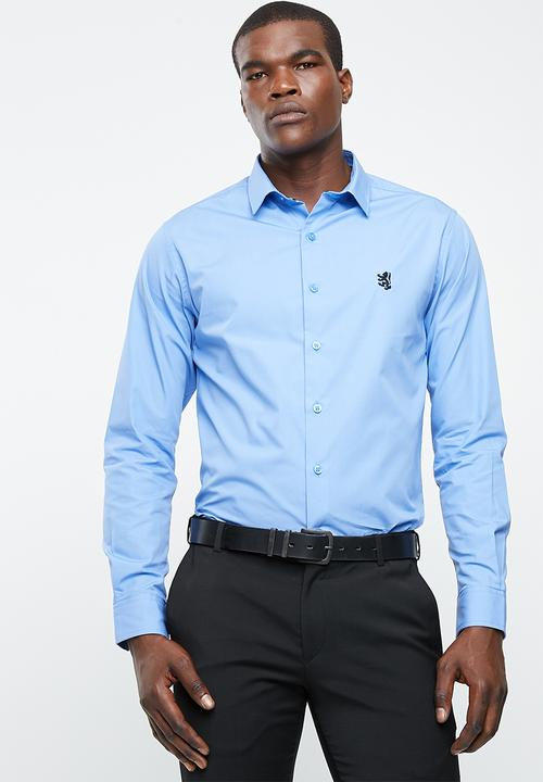 a1fd029fb Niall styled shirt - blue Pringle of Scotland Formal Shirts ...