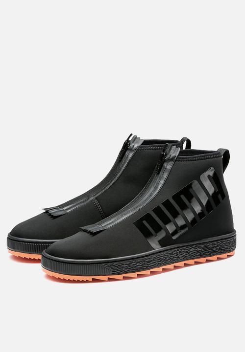 925a7a7d84767b Puma Basket Boot x ANR - 366535 02 - Puma Black PUMA Select Sneakers ...