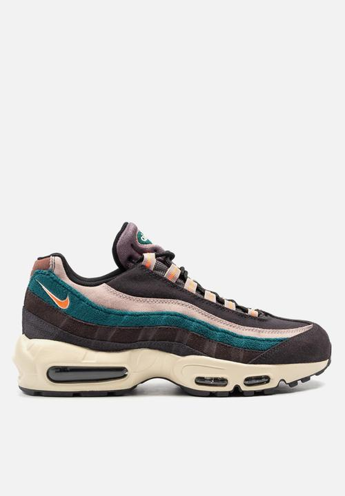 more photos 1e11a a178c Nike - Air Max 95 Premium - Oil Grey   Bright Mango   Thunder Grey