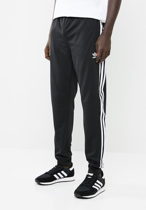 ac4a6391 SST track pant - black & white