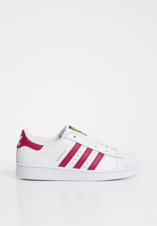 589826ea9b26 Kids Superstar C - white/pink/white adidas Originals Shoes ...
