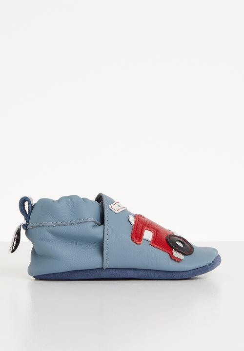 2489c140bb2879 Rescue 911 slip on - blue shooshoos Shoes