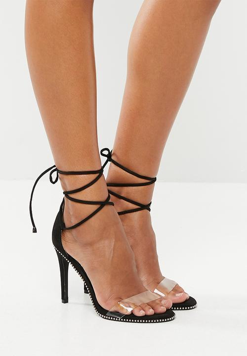b110f336dd Peru ankle tie heels - black Dolce Vita Heels | Superbalist.com