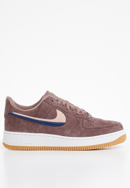 new images of fresh styles los angeles Air Force 1 '07 Lux - smokey mauve / gum yellow