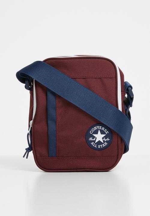 2190c85c3f9b Core poly cross body bag - burgundy Converse Bags   Purses ...