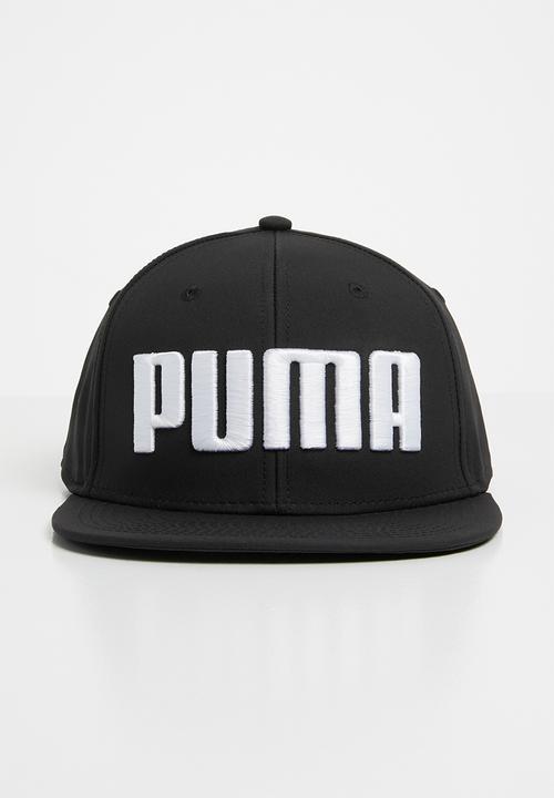 buy online f5040 9e84f PUMA - Puma flatbrim cap puma - black