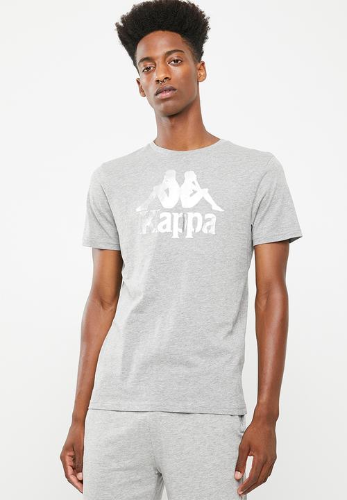 723a0006c1 Authentic estessi slim tee - grey KAPPA T-Shirts