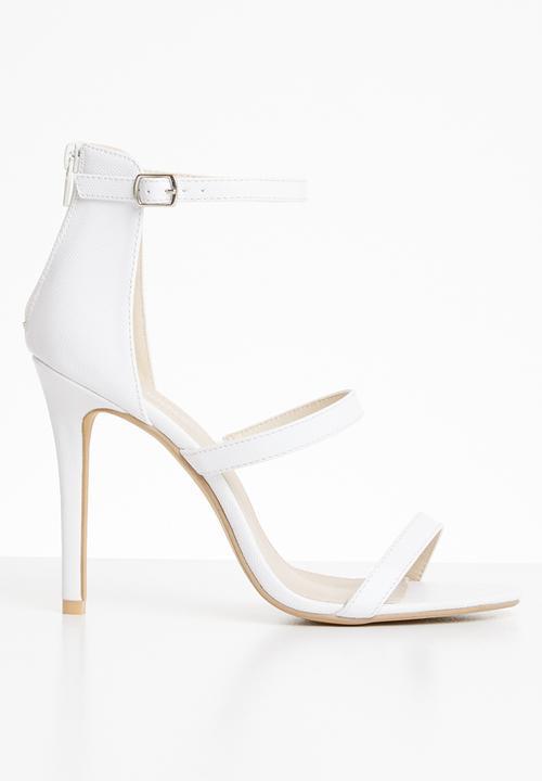 b0992c2a9979 Kylie strappy heel - white Superbalist Heels