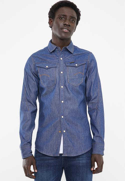 82777e84726ff1 Arc 3D long sleeve shirt - raw G-Star RAW Shirts   Superbalist.com