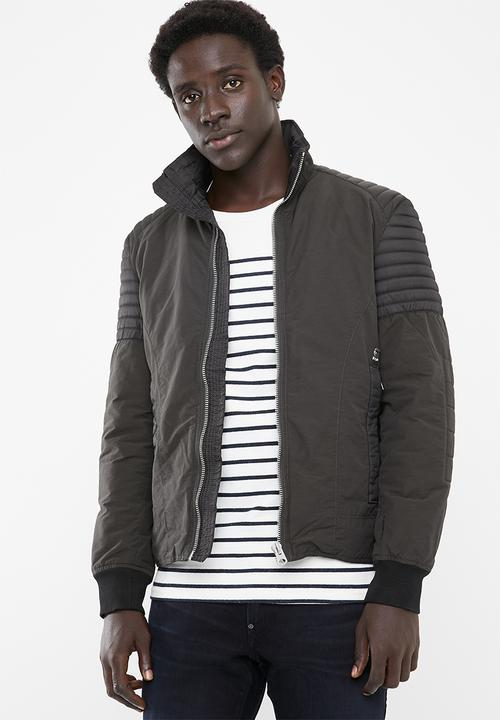 5ddf1e43 Attack dizrey jacket - raven G-Star RAW Jackets | Superbalist.com