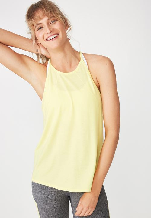 e59a641cc3d7fe Refined tank top - sunflower yellow Cotton On T-Shirts