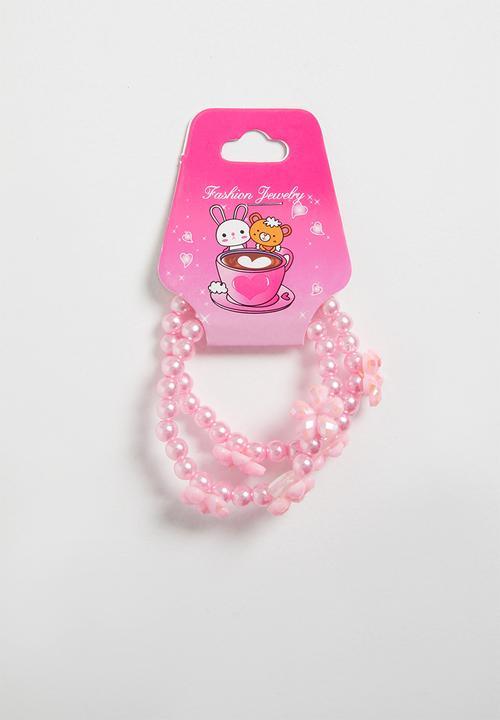 b095721c8afb5 Bracelet set - pink