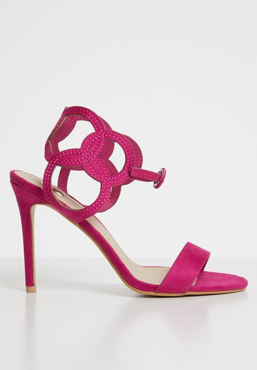 6f423b0554b Ankle strap heels - cerise pink Footwork Heels