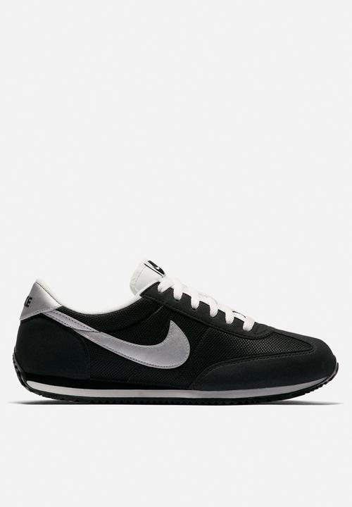 7251b355996082 Women s Nike Oceania Textile - 511880-091 - BLACK METALLIC SILVER ...