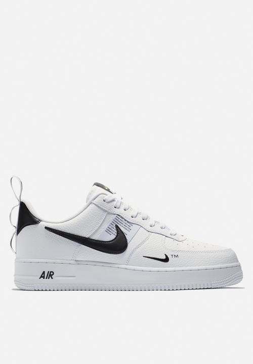 reputable site 3ac67 416b4 Nike - Air force 1  07 lv8 utility - white,black   tour yellow