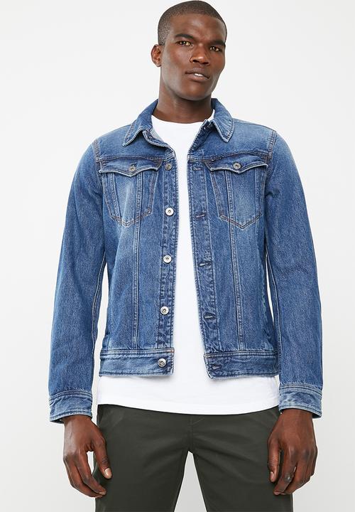 96c11f59b8ea1 DC 3D slim jacket - med vintage aged antic G-Star RAW Jackets ...