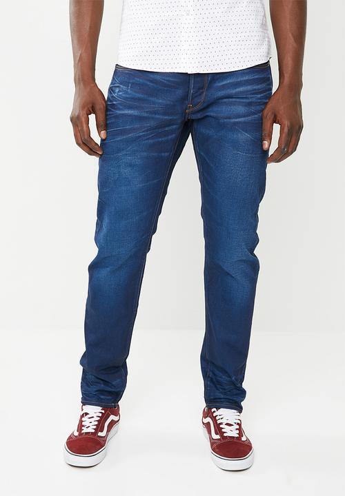 b09695fe63e 3301 slim fit denim jeans - medium aged G-Star RAW Jeans ...