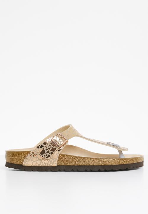 6e138877f9d5 Gizeh Metallic stones Copper Birkenstock Sandals   Flip Flops ...