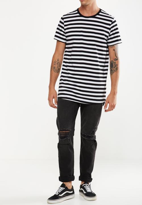 db854ba894 Slim fit ripped jeans - coal black Cotton On Jeans | Superbalist.com