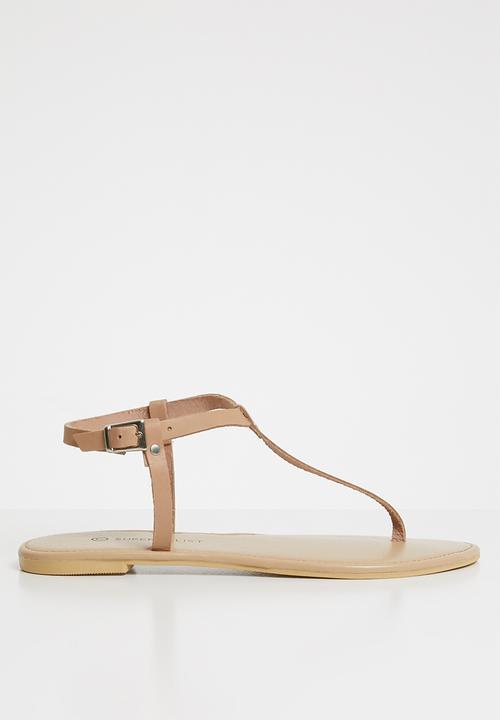 e8fd0a41e54e8 T-bar sandal - neutral Superbalist Sandals   Flip Flops ...