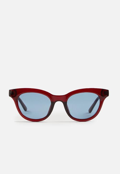5a871e58698 Frame sunglasses - red MANGO Eyewear