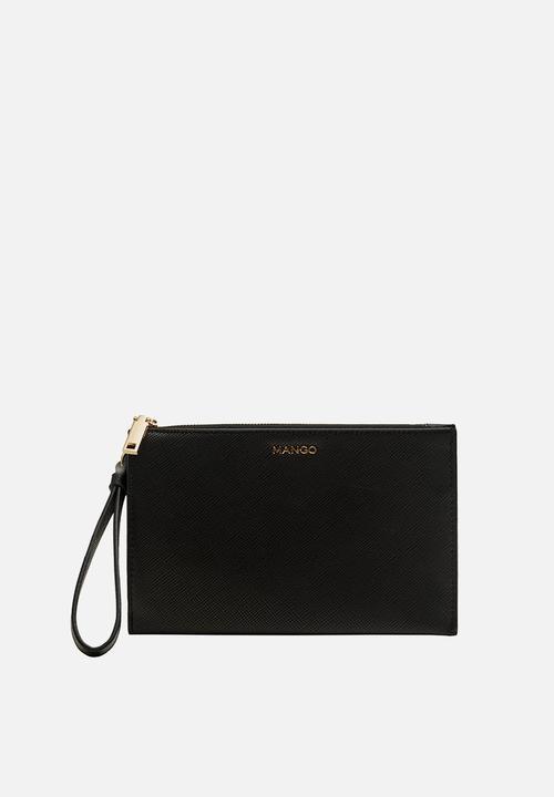 96868e2e769 Zip pebbled cosmetic bag - black MANGO Bags & Purses | Superbalist.com