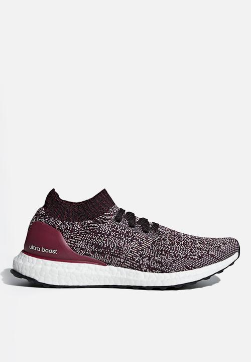 481d2c9fcf7 UltraBOOST Uncaged - DA9596 - burgundy adidas Performance Trainers ...