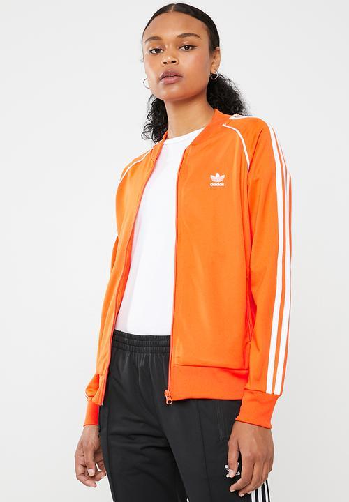 premium selection 9b134 372a7 adidas Originals - SST track jacket - orange