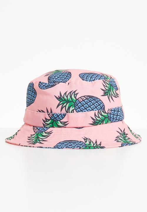 Pineapple print bucket hat - multi Superbalist Headwear ... c88eed16a80