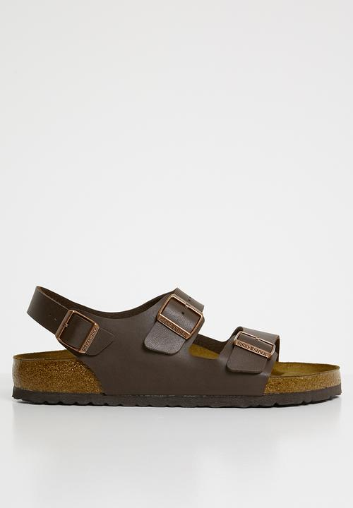 ea1c30b892ae Milano - Dark Brown Birkenstock Sandals   Flip Flops