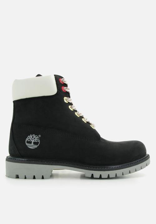 official photos c383e eae98 Timberland - 6 inch premiumn boot - black   white