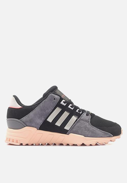 1994bced6661 EQT SUPPORT RF W - BA7594 - Core Black   Pink   Grey adidas ...