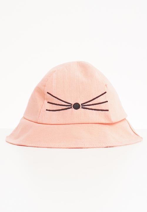 6469ca1b412 Kids girls bucket hat - light pink Superbalist Accessories ...
