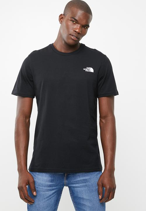 a49a5d9356d5 Men s short sleeve simple dome tee - black The North Face T-Shirts ...
