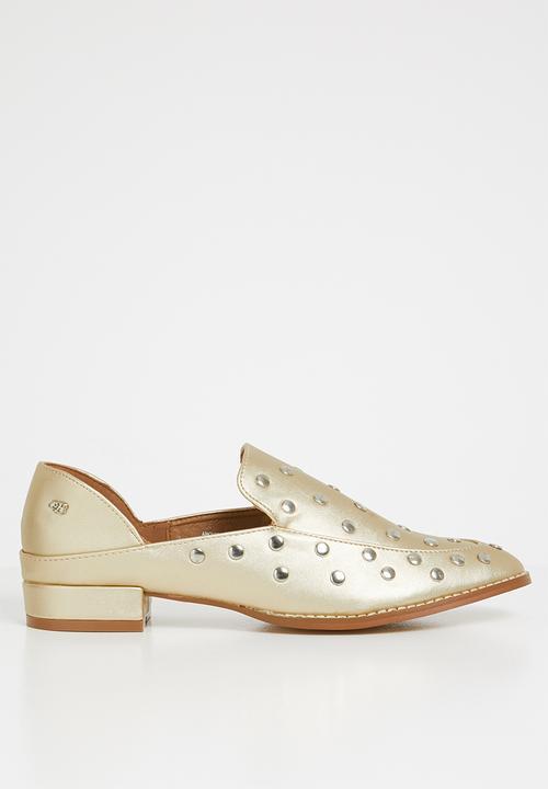 7af3dbfa173 Anovic loafers - gold Miss Black Pumps   Flats