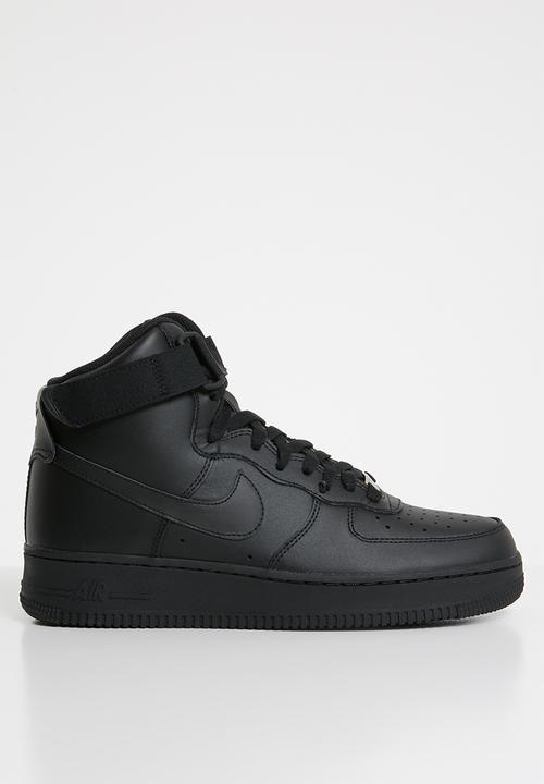 58676483cb3fb Women's Nike Air Force 1 High - 334031-013 - black/black-black Nike ...