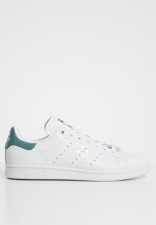 Stan smith w - white / raw green