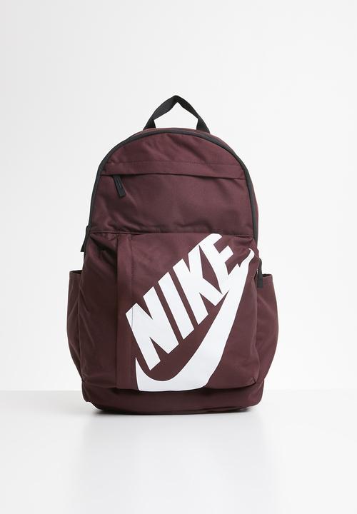 f1cc113a318a6 Nike sportswear elemental backpack - burgundy Nike Bags   Wallets ...