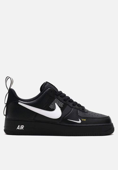 san francisco eb94d 57a15 Nike - Air force 1  07 lv8 utility - black,white   tour yellow