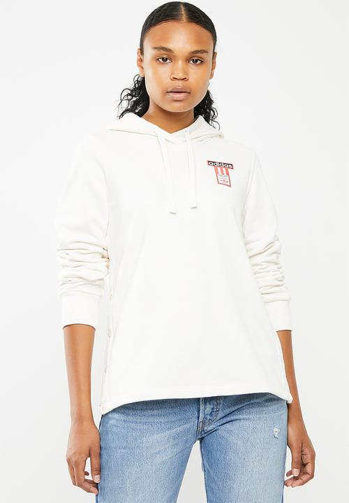 93f0533e267a Adibreak hoodie - chalk white   cream adidas Originals Hoodies ...