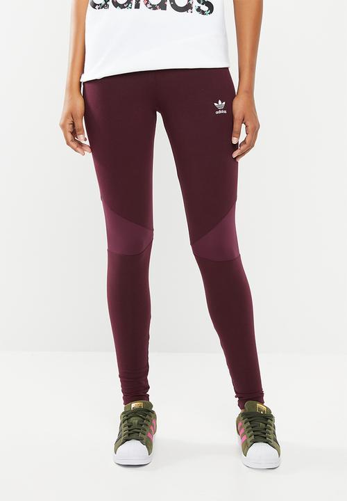 new concept a3fc9 303a4 adidas Originals - CLRDO tights - burgundy