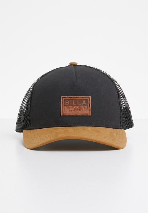 Mixed trucker cap - black Billabong Headwear  6f2ad59a5375
