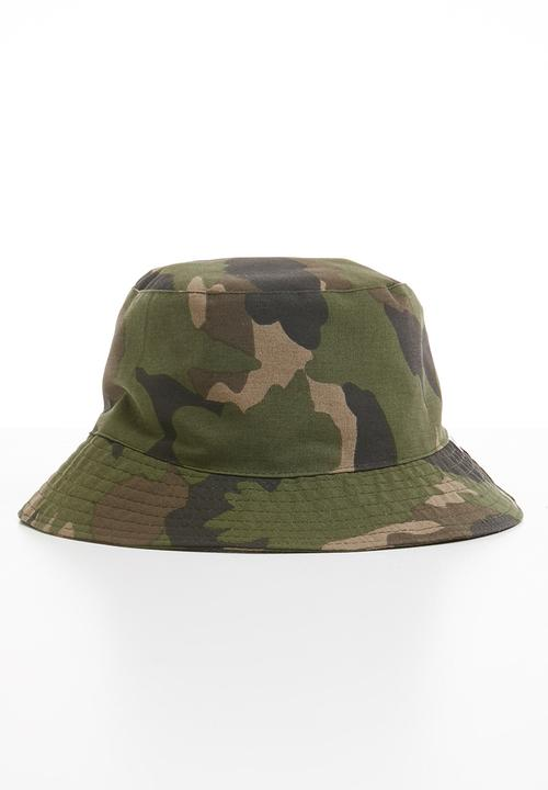 f9827c8a Bucket hat-camo Superbalist Headwear | Superbalist.com