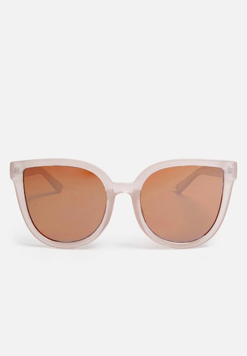 4b30fd1b476c2 Amelia cat-eye sunglasses - milky palm Cotton On Eyewear ...
