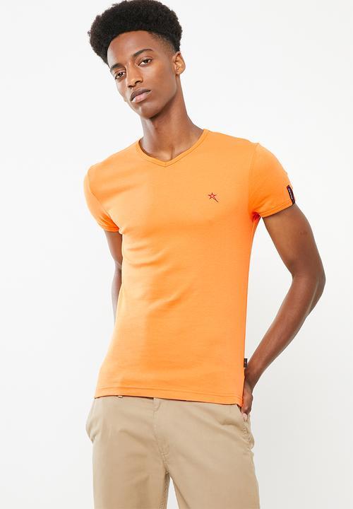 45121e8d Bolt evo muscle tee - yellow SOVIET T-Shirts & Vests | Superbalist.com