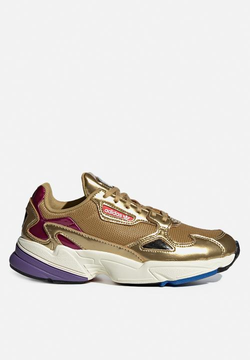 huge discount da2a7 4859c adidas Originals - Falcon - gold  off white