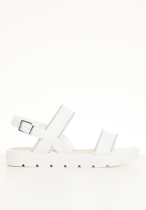 Szlosek sandal - white ALDO Sandals   Flip Flops